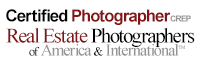 Member of Real Estate Photographers of America and International